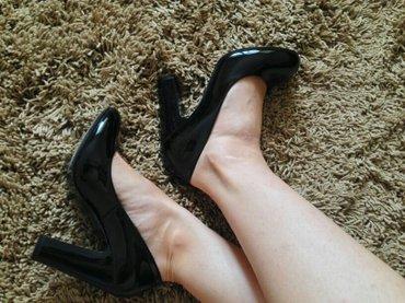 Продаю туфли. лаковая кожа. надевались в Лебединовка