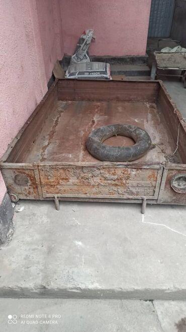 Борт прицепа, из толстого метала,длина 1.9, ширина 1.3. цена 5000 сом