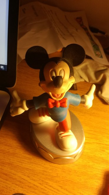 Mickey Mouse's second version statuette from Deagostini's series σε Νέα Σμύρνη