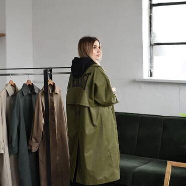 Куртки - Кыргызстан: Тренч  производство: киргизия  размеры :s,m,l, xl доставка по городу