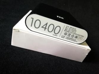 Eksterne baterije | Bela Palanka: Power bank Xiaomi MI 10400 mAh  Veoma kvalitetna baterija elegantnog d