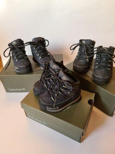 Timberland cipelice za decake br. 21,23,24.Nosene kratko,sve su kao