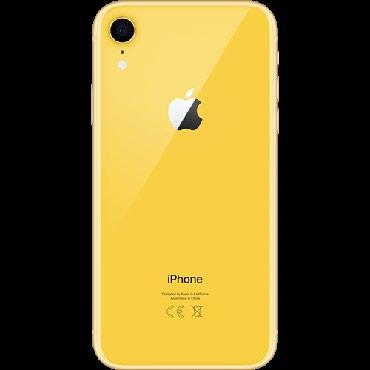 apple 4 - Azərbaycan: Apple iPhone XR (3GB,256GB,Yellow)