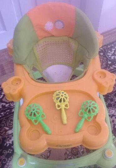 люминарк детская посуда в Кыргызстан: Продаю ходунки детские в хорошем состоянии. Мини торг