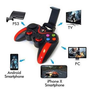 VA - 013 Gamepad  PS3 üçün Easy SMX 2.4G Simsiz İdarəetmə, Vibrasiya Y