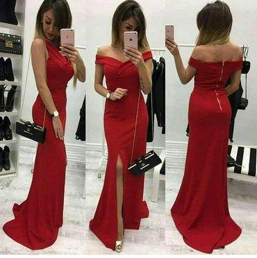 Crna sirena haljina - Srbija: Sirena haljina sa razrezom novo! Dostupne boje: crna, crvena, bordo