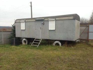 Продаю вагончик, серебристый, все в Бишкек