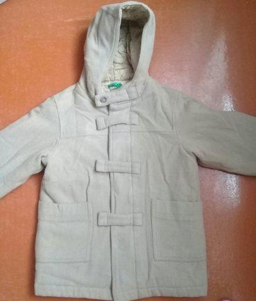 Sumqayıt şəhərində Detskoye palto Benetton na 5-6let