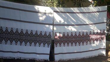 Κουβερτάκια υφαντά ( 2 ) + Σεμέν ( 2 )Διαστάσεις κουβέρτας 255 x 144