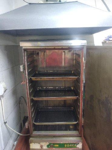 промышленный печь в Кыргызстан: Пароварка промышленная, печь трёх секционная