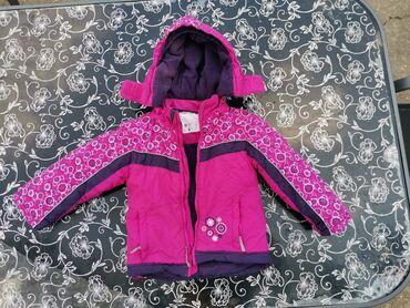 Ski rukavice - Srbija: Zimska jakna KikiKokoVel. 110 (4/5 godina)Nema ostecenja,postavljena