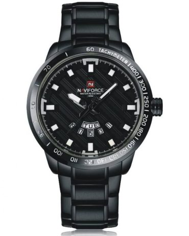 chasy naviforce nf9056m в Кыргызстан: Черные Мужские Наручные часы NaviForce