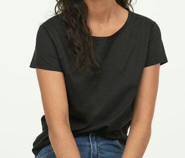 H&M Базовая футболка для твоего гардероба!95% ХлопокУдлинённая