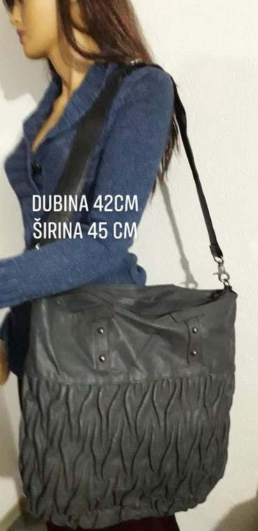 Tašne | Leskovac: Nova baš velika duboka torba. Dimenzije prikazane ne slici
