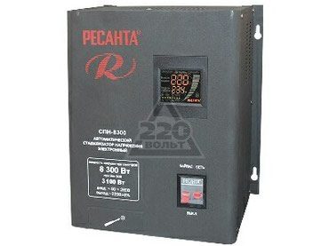 акустические системы apc беспроводные в Кыргызстан: Стабилизатор РЕСАНТА СПН-8300 однофазный вх.90-260В вых.220±8% 5.5кВт