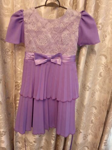 Платье на 3-5лет шифон. Саиопошив