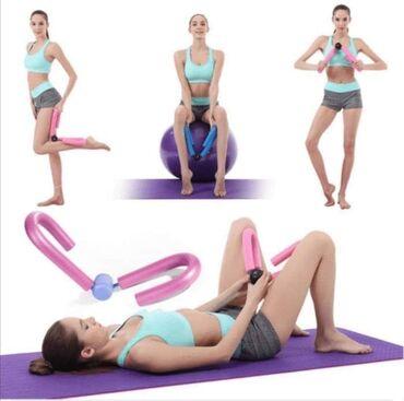 Opruga za vežbanje nogu i ruku. Multifunkcionalni rekvizit za oblikov