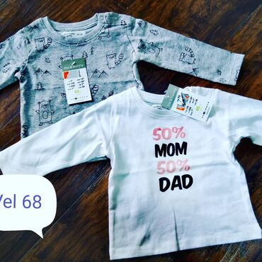 Majice - Srbija: Bodići i bluzice za bebe velicine na slikama