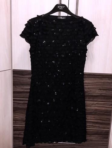 Crna, elegantna haljina, S vel. Nosena par puta. Za vise informacija - Kragujevac