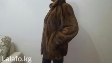 Шуба норка, Бельгийская. норка..орех,б\у в хорошем состочнии 48-50 р. в Бишкек