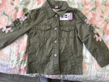 Sniženooo. nova prolećna jakna vel.104