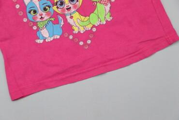 Дитяча футболка з кицями    Довжина: 40 см Ширина плечей: 29 см Рукав