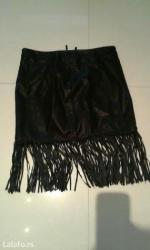 Kozna-suknja-m - Srbija: Kozna suknja novo veličine xs s m l xl