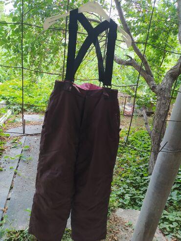 Личные вещи - Ивановка: Женские лыжные штаны.коричневые.из Германии.500сом.46 -50 размер