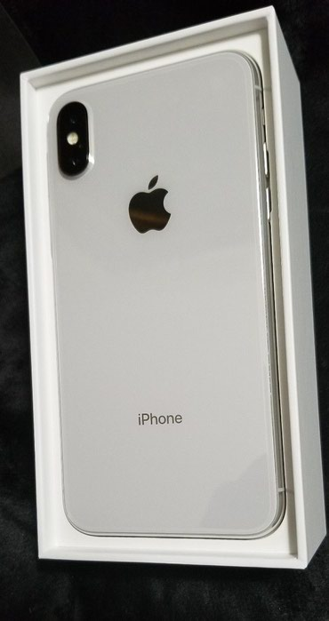 Apple iPhone X - 256GB - Silver (AT&T/T-Mobile) A1901 (GSM)  σε Λαγκαδάς