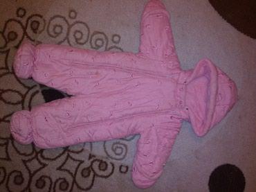 Продаю детские комбезы, розовый для в Кара-Балта