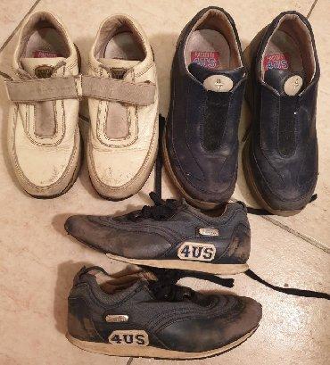 Decije kozne cipele - Srbija: PACIOTTI 4US-decije ORIGINAL kozne patike cipele, 3 komada 30 i 32