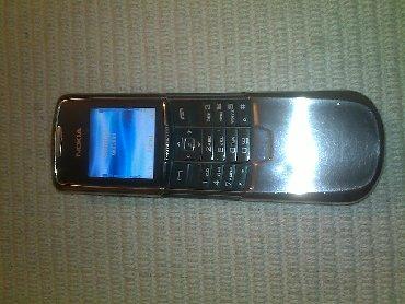 Nokia-230 - Srbija: Nokia 8801 (8800) silver solidno ocuvana life timer 474:28 Dobro