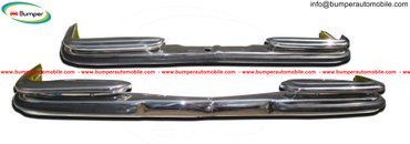 Mercedes Benz W108 & W109 years (1965-1973) bumpers stainless in Amargadhi  - photo 3