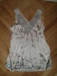 Svilena majica sa nitnama, prelepa, S/M - Smederevo