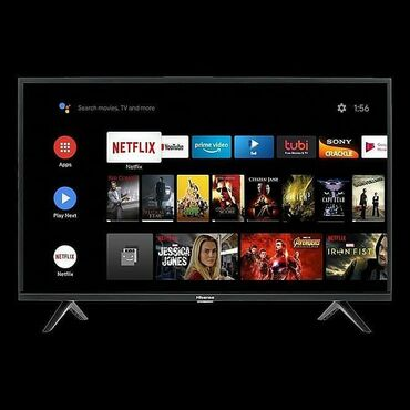 Телевизоры Hisense Android.9  43 дюм 110 см диогональ смарт тв андрои
