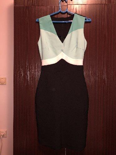 Haljina-boje - Srbija: Svecana haljina u tri boje. Broj 36