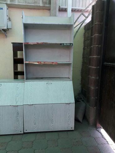 мойка-со-шкафом в Кыргызстан: Полки со шкафами в магазин ширина 97см,в наличии 6шт