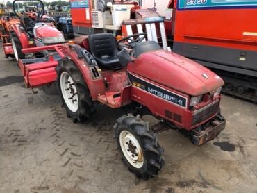 Сельхозтехника - Красный - Бишкек: Продается Японский трактор Митцубисси МТХ245 с фрезой, техника в пути