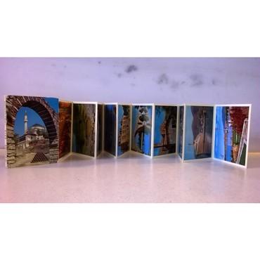 12 Καρτ Ποστάλ αναδιπλούμενες - Ιωάννινα Άρτα Ηγουμενίτσα - σε καλή