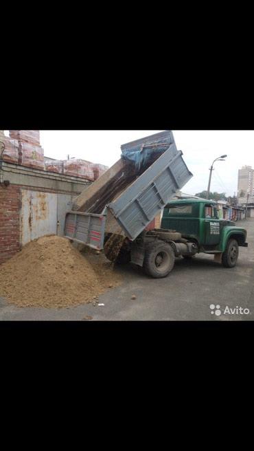 Песок в Кыргызстан: Песок Сеяный без камней 8 тон