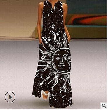 Шикарные летние платья с 3д принтом. В наличии размер L XL