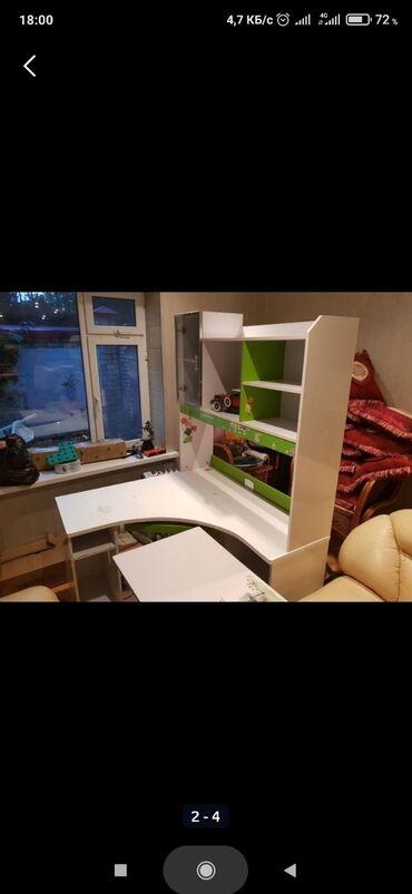 Продаю угловую парту, компьютерный стол, письменный стол все в одном