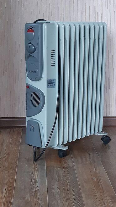Обогреватель масляный,2 ступени нагрева,регулятор температуры