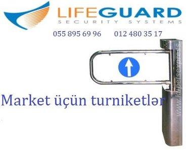 Bakı şəhərində ❖Turniket  ❖  Tehlukesizlik sistemi olan turniket giris-cixis