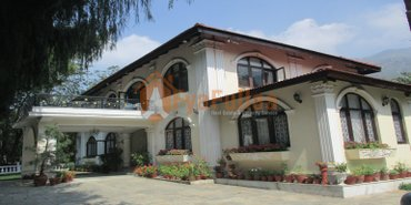 A beautiful & strong bungalow house having land area 4-3-0-0 of 2. 5 in Kathmandu