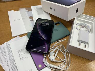 Apple Iphone - Бишкек: Б/У iPhone Xr 64 ГБ Черный
