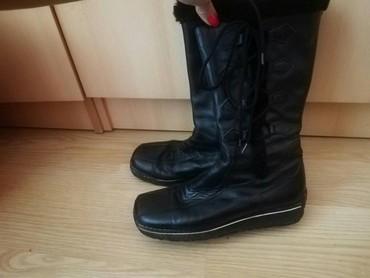 Kozne-cizme-sa-nitnama - Srbija: Kozne cizme sa gumenim djonom