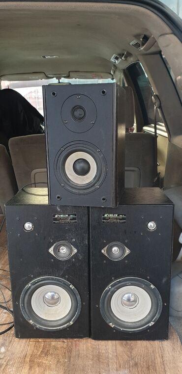 акустические системы emie с сабвуфером в Кыргызстан: Продаю колонки мощные один с фирмы microlab а две 40см