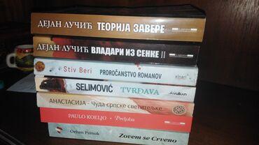 Sport i hobi - Zrenjanin: Polovne knjige 300 dinara komad
