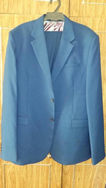 Мужская одежда - Шопоков: Продаю мужской костюм синего цвета в отличном состоянии. Размер: 52
